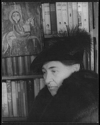 Willa Cather by Carl van Vechten, photo taken January 22, 1936, released to public domain, Library of Congress