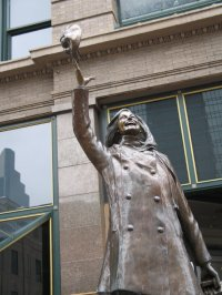 Mary Tyler Moore on Nicollet Mall & 7th Street, Minneapolis, photo by QuoinMonkey, all rights reserved