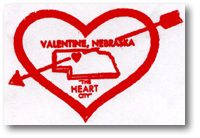 Valentine's Cache, Valentine, Nebraska, from Heart City website