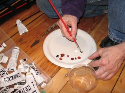 Mixing Paint, May 17th, 2007, photo © 2007 by QuoinMonkey. All rights reserved.