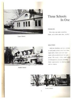 The Spire, 1962 yearbook of Greenwich Country Day School