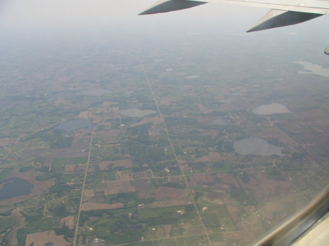 Leaving the Land of 10,000 Lakes, photo © 2007 by Liz. All rights reserved.