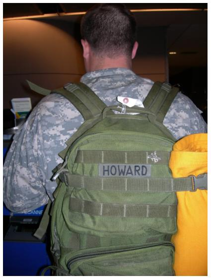 Going back to Iraq, photograph by Beth Howard 2007, all rights reserved