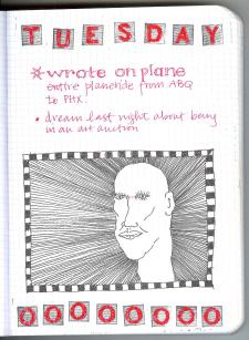 Bald Tuesday, from ybonesy's writing journal, 2007
