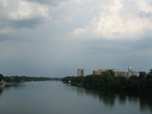 Savannah River Near Augusta, June 8th, 2007, photo © 2007 by QuoinMonkey. All rights reserved.