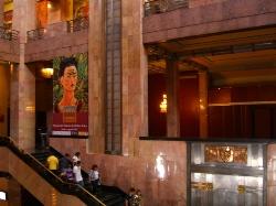 Frida Kahlo Exhibit at Palacio de Bellas Artes, photo by Laura Stokes 2007, all rights reserved