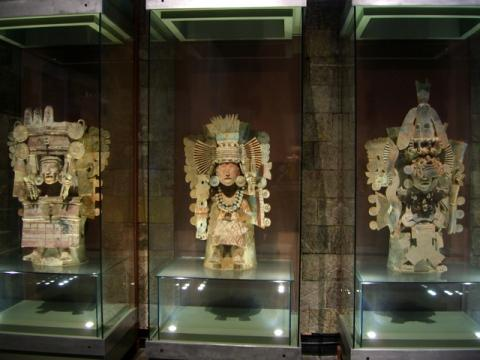 Museum of Anthropology in Mexico City, photo by Laura Stokes 2007, all rightsreserved