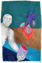 Offering 2, drawing © 2007 by ybonesy, all rights reserved