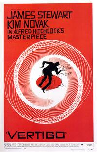 Photo of Vertigo movie poster, photo © 2007 by Carolee. All rightsreserved.