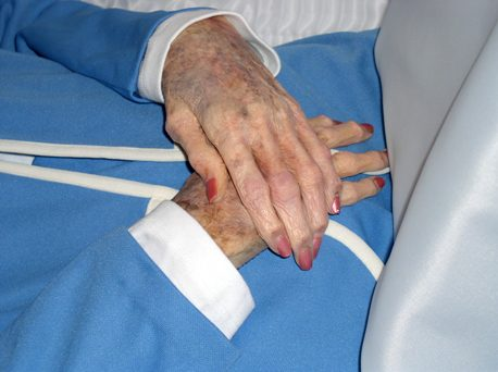 My Mother's Hands, photo © 2008 by Bob Chrisman, all rights reserved.