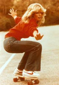 Farrah Fawcett as Jill Munroe circa 1978 (public domain)